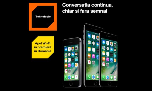 Apeluri telefonice prin Wi-Fi