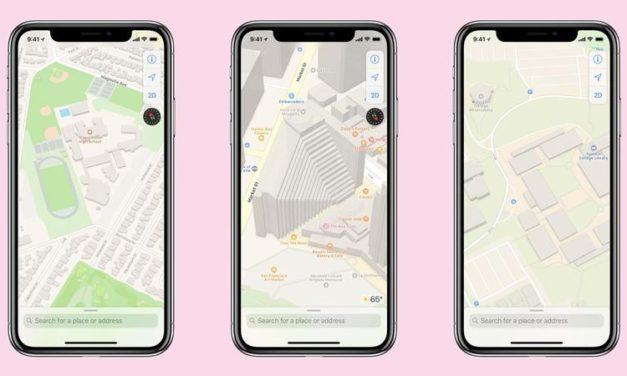 Aplicatia Hărți pentru iPhone va avea un upgrade, va arăta acum acoperire mai detaliată a solului, căi pietonale