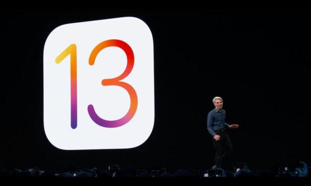 Lansare iOS 13